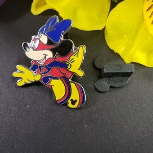 4/$25 Disney Hidden Mickey Super Girl Minnie Pin